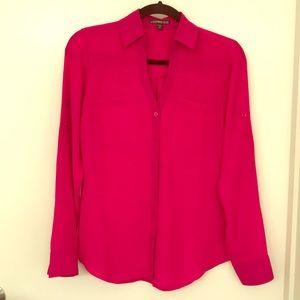 Fuschia pink Express Portofino shirt